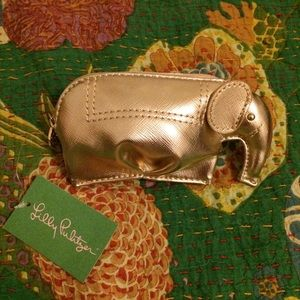 Lilly Pulitzer Elephant Coin Purse 🐘